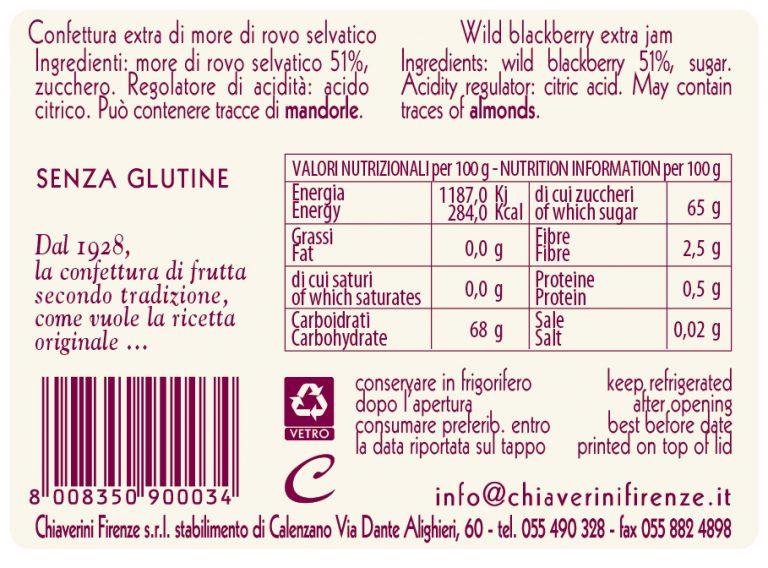 Etichetta More di Rovo